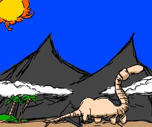 brontosaurus earthworm hybrid