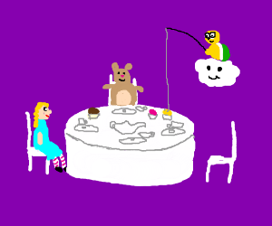 Tea Time with Lakitu