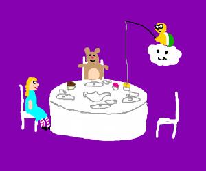 Tea Time with Lakitu