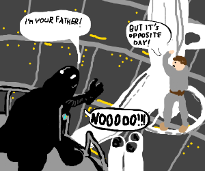 Luke is Darth Vader's father