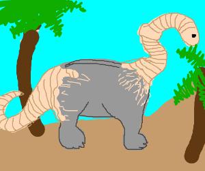 Earthworm-Apatosaurus hybrid