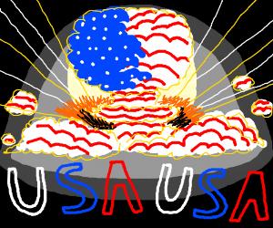 #NUKE'EMALL WOOO USA USA USA USA USA USA USA