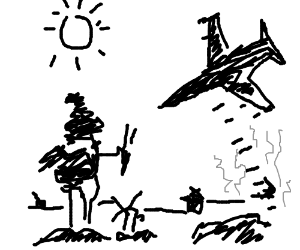 Don Quixote is a fighter jet pilot.