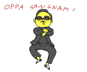 oppa with sunglasses