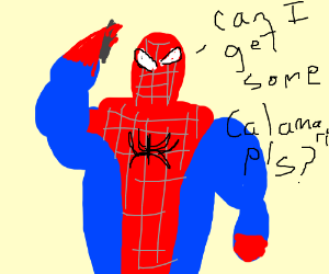 Spiderman ordering