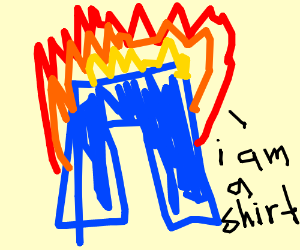 Liar liar pants on fire!