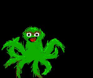 Oscar the Grouchtopus