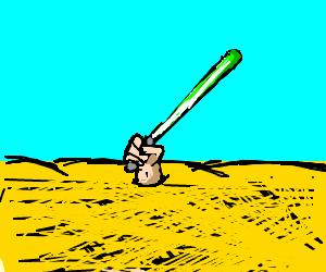 Jedi knights in quicksand