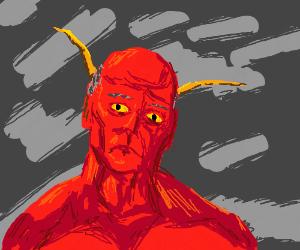 satan is sullen