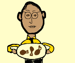 Arthur Offering You Chicken Legs