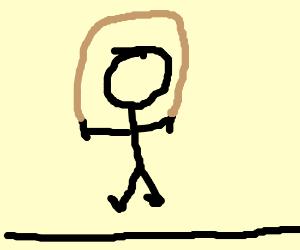 Mushu jumps rope