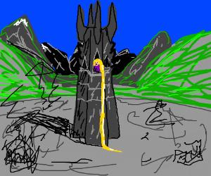 Rapunzel in Isengard