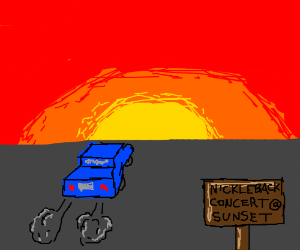 Casey, don't drive away into the sunset!