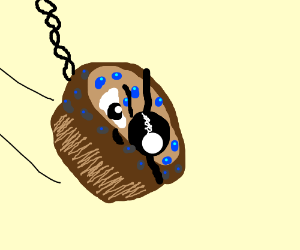blueberry muffin came in like a wrecking ball