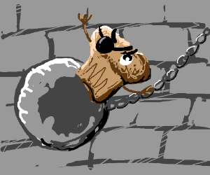 Trouble Muffin came in like a wrecking ball