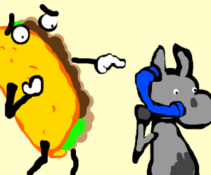 Taco is shocked to find that Donkey has phone