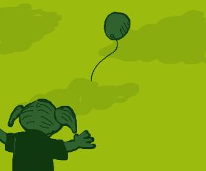 My balloon!