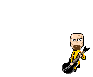 Walter White rocks out on guitar