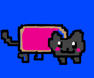 Nyan cat is museum exhibit