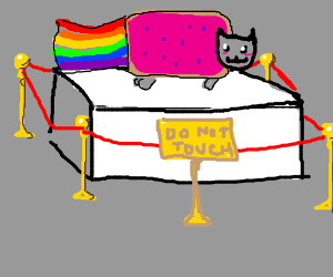 Can't Touch This Nyan Cat