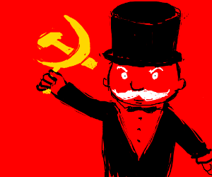 Mr. Monopoly become communist.
