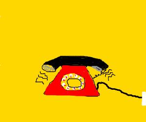 Ring ring ring ring ring ring ring...