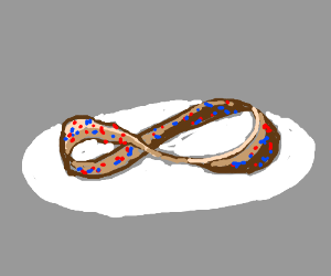 Mobius Donut... With sprinkles!