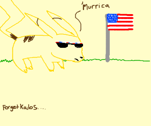 Free Country USA: The next Pokemon region.