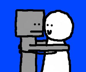 Embrace the Hug-Bot.