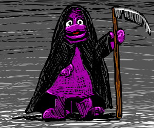 The Grimace Reaper