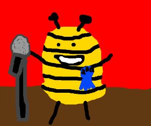 Bee comes second in spelling bee