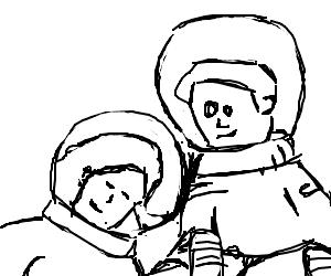 Astronauts find love