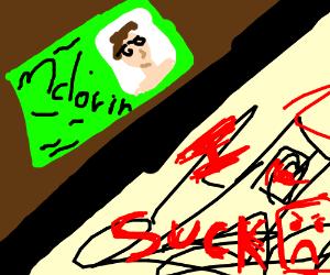 """Superbad"" drawing / super bad drawing"