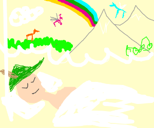 Robin Hood dreams of infinite equestria