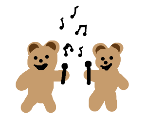 Teddy Bear Duet