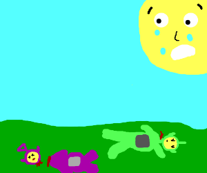 Massacre in teletubbie land