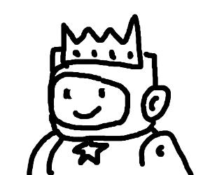 Maxwell (Scribblenauts) as a King