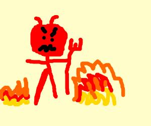 Badly drawn devil