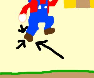 Super Mario's Foot