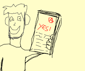 paper saying yes