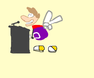 Today's guest lecturer is Rayman.