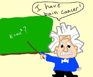 """Eisenstein says I have """"Bain"""" cancer"""