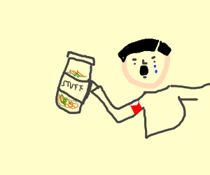 """Hitler is sad with discovery of jar of """"stuff"""""""