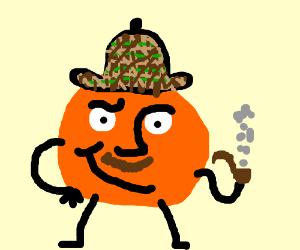 What if Sherlock Holmes was actually an orange