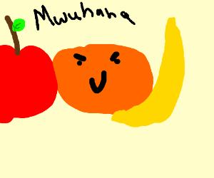 A villainous orange