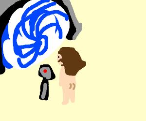 Naked Jesus opens a Stargate