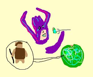 Galactus consumes Endor