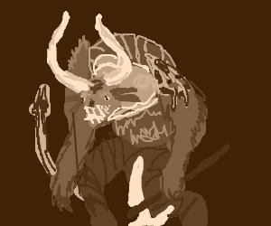 charr warrior (guild wars 2) - Drawception
