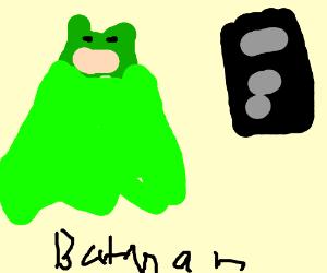 Green batman cant drop the basse