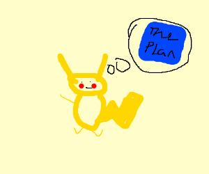 pickachu plans a master plan